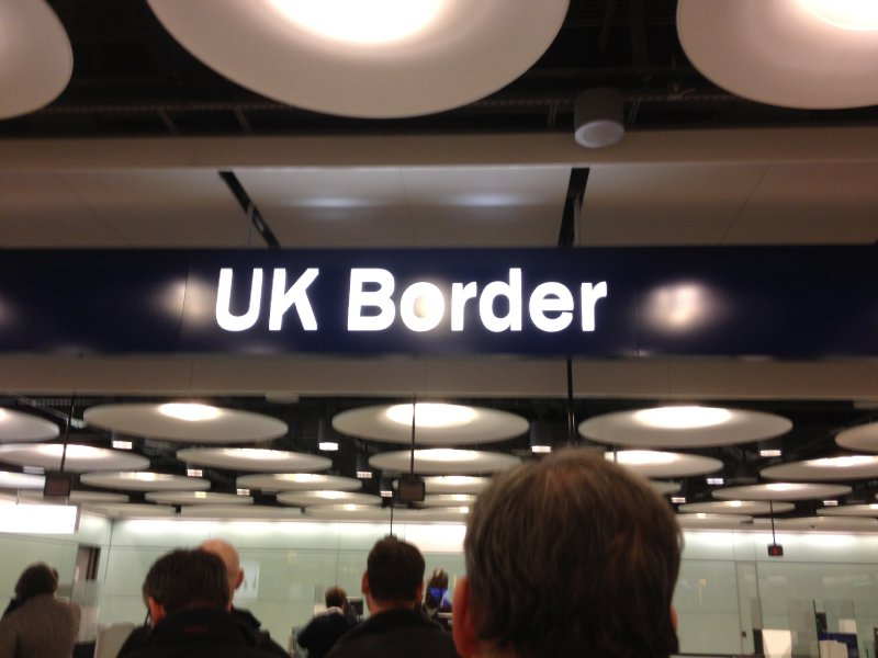 Entering the UK