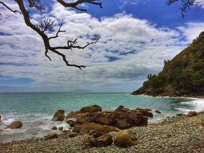 Quick rest stop at Fantail Bay on my roadtrip through Northern Coromandel, New Zealand