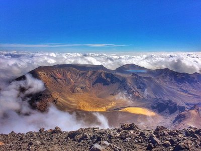View from Mt. Ngauruhoe (Mt. Doom)