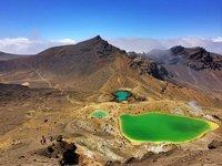 Emerald Lakes on the Tongariro Alpine Crossing