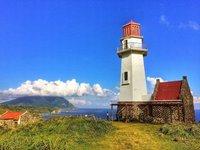 Tayid Lighthouse in Mahatao, Batan Island, Batanes