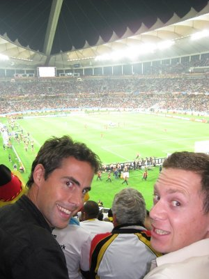 Before the Semi Final between Spain and Germany