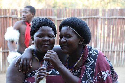 Swazi ladies singing swazi tunes