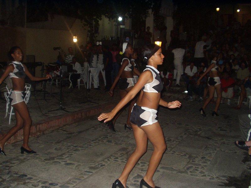 Dancers in Trinidad