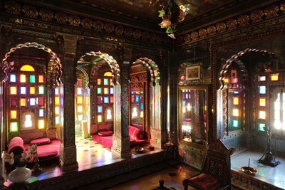 Sheesh Mahal (Hall of Mirrors) Deogarh Palace, Rajasthan