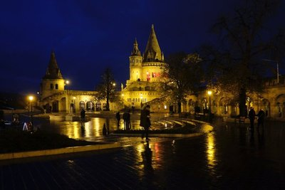 Fisherman's Bastion, Buda Castle, Budapest
