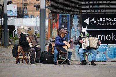 Street musicians, Vienna