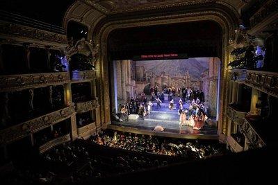 Cavalleria Rustica performance, Lviv