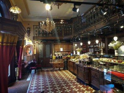 Cafe Mikolasch (old pharmacy), Lviv
