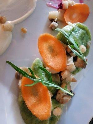 Spinach dumplings