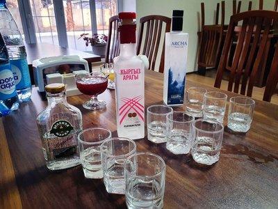 Vodka taste test