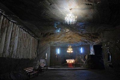 Church inside Cacica Salt Mine