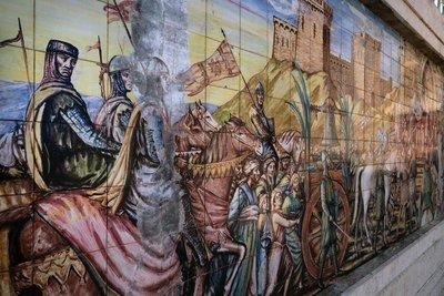 Ceramic mural,