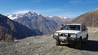 Otmok Pass, Talas region