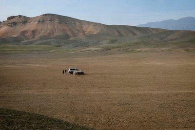 A tai kazan on a Kok Boru playing field