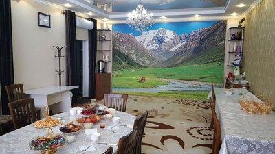 Dining room at Mira Guesthouse, Kochkor