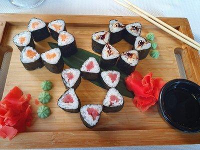 Sushi at Oyster Bar