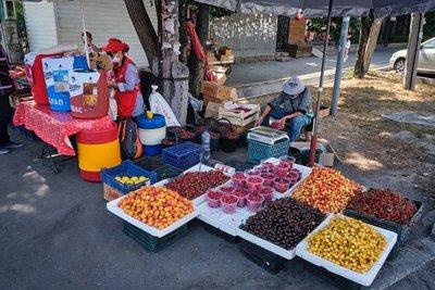 Our dedicated fruit vendor