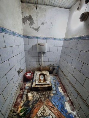 On the list of worst toilets on the road ever!