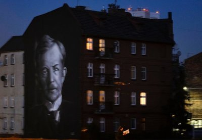 Mural of activist Wojciech Korfanty, Katowice