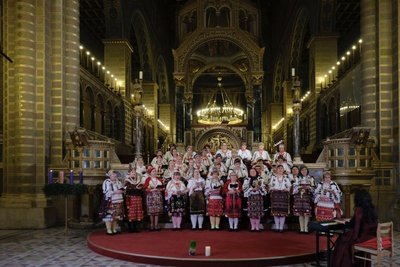 Christmas concert at Pecs Cathedral