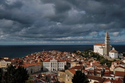 View of Piran, Slovenia