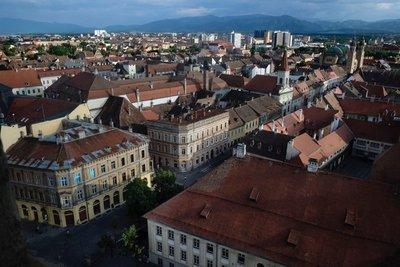 Views from Evangelica Church, Sibiu