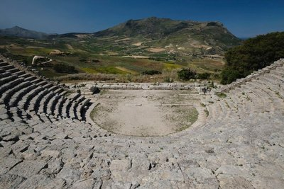 Amphitheater at Segesta
