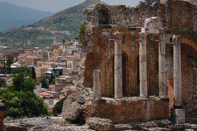 Amphitheater, Taormina