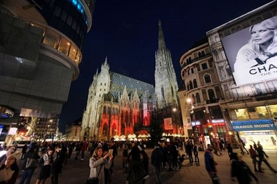 St. Stephen's Cathedral on Stephansplatz, Vienna