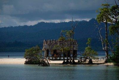 Views of Kri Island, Raja Ampat