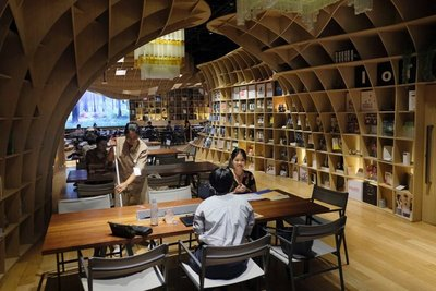 True shop/cafe/workspace at Siam Paragon mall, Bangkok