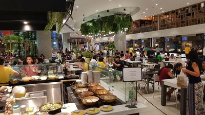 Food court at EM Quartier mall, Bangkok