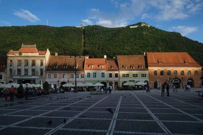 Main square, Brasov