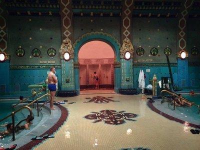 Gellert Thermal Bath, Budapest