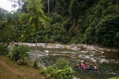River taxi, Bukit Lawang