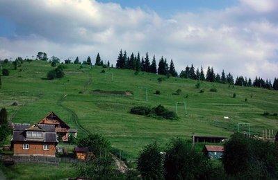 Chair lift, Bukovel ski resort