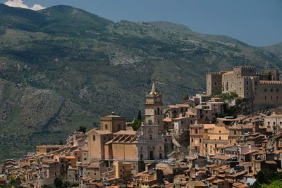 View of Caccamo