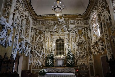 Chapel of Saint Anne, Ventimiglia Castle, Castelbuono