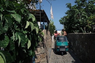 Small streets of Panarea island