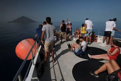 Day cruise to the Aeolian islands