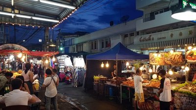 Night Market, Hua Hin