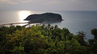 View of Ko Ma island, Ko Pha Ngan