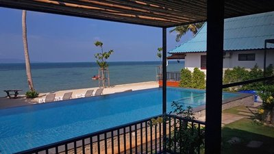 View from the room, Samutra Residence, Ko Pha Ngan
