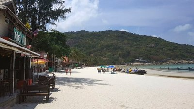Haad Rin beach (of full moon party fame), Ko Pha Ngan
