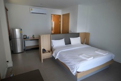 Room at Samutra Residence (32 eu/night), Ko Pha Ngan