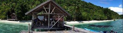 Koranu Fyak guest house, Kri island, Raja Ampat