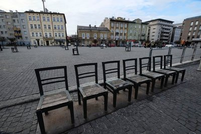 Hereos' Square, Krakow, Poland