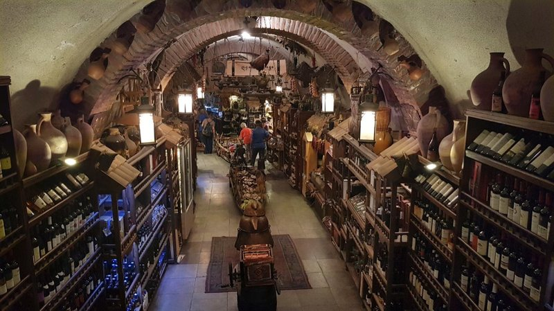 Meidan Bazaar, the ancient underground market in Old Tbilisi has become a tourist attraction