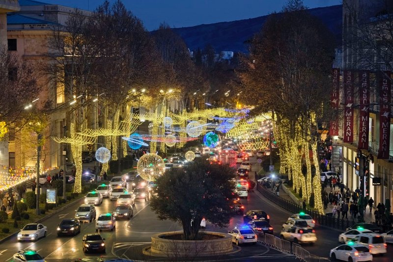 View of Rustaveli Avenue